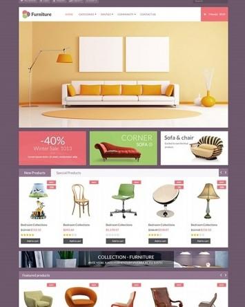 Template magazine online de Mobilier