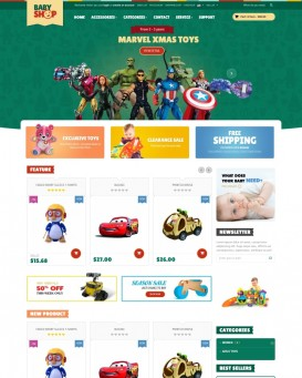 Online Toy Store Template