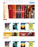 Online Bookstore Theme