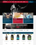 Sport and Fitness store Theme