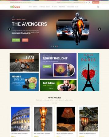 Multimedia Online Store Theme