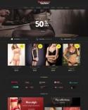 Template magazine online de lenjerie