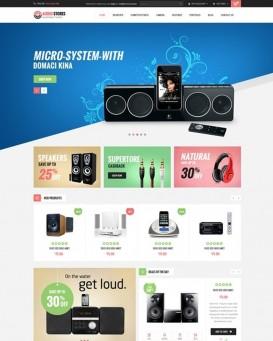 Audio Equipment Store Template