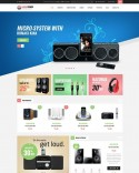 Audio Equipment Store Template