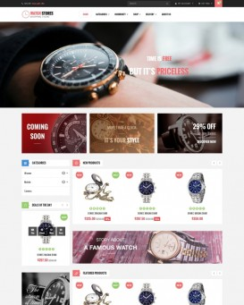 Luxury Watch Store Theme