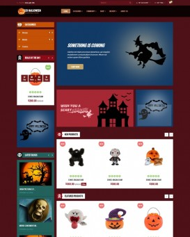 Party Themed PrestaShop Template