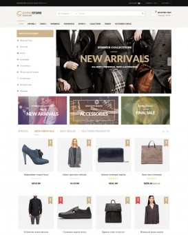 Fashion Theme for PrestaShop Stores