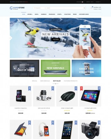 High Tech theme for PrestaShop
