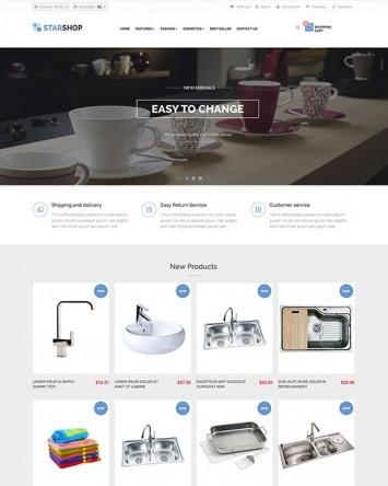 Kitchen and Bath theme for PrestaShop