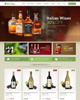 Wine Store theme for PrestaShop 1.6