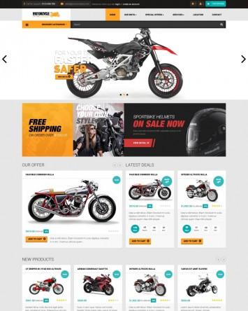 Motorcycle Shop PrestaShop theme