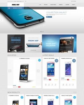 Template magazin telefoane mobile