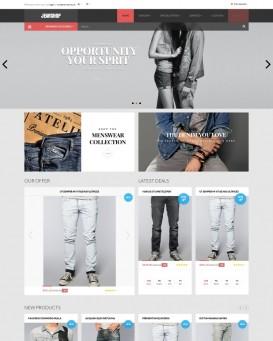 Template magazin online blugi