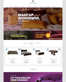 Interior Design Theme for PrestaShop