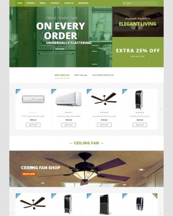 Template magazin online Electrocasnice