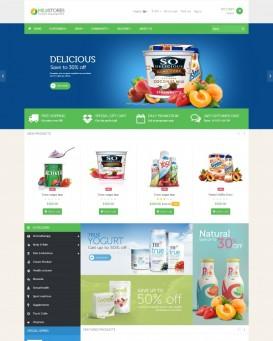 Supermarket theme for PrestaShop