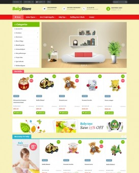 Babystore Theme for PrestaShop
