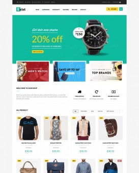Fashion Accessories Store Theme