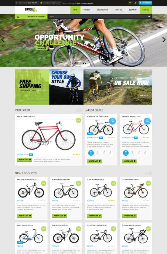 Leo Bicycle Prestashop